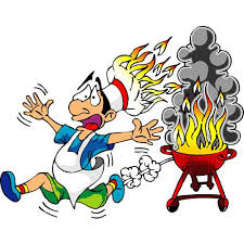 Bbq Cartoon Funny Barbecue Labor Day Weekend