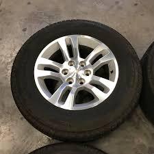 Chevy Suburban 18 Inch OEM Wheels + Tires - Extreme Wheels
