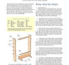free shelf woodworking plans