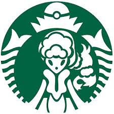 Alolan Starbucks Green Outline By Dothewave