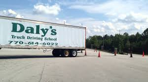 100 Trucking Schools In Ga Dalys Truck Driving School 90 Degree Alley Dock YouTube