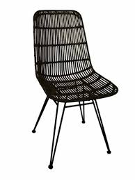 Woven Rattan Dining Chair From Green With Envy Lotta Ding Chair Black Set Of 2 Source Contract Chloe Alinum Wicker Lilo Chairblack Rattan Chairs Uk Design Ideas Nairobi Woven Side Or Natural Flight Stream Pe Outdoor Modern Hampton Bay Mix And Match Brown Stackable