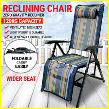 King-size Zero Gravity Foldable Recliner Outdoor Camping ...