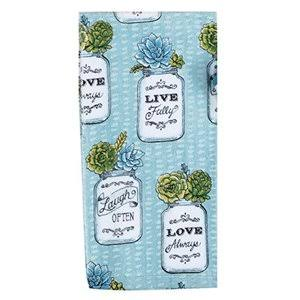 Kay Dee Designs Terry Towel - Garden Succulents