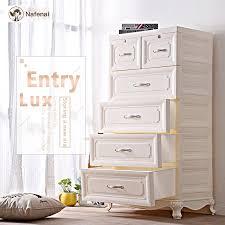 europäischen stil kunststoff box lagerung organizer schublade schrank 5 etagen kleiderschrank box für spielzeug und unterwäsche organizer für
