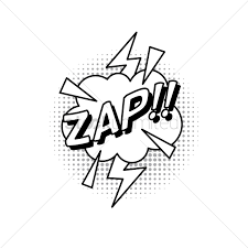 ic bubble effect zap Vector Image