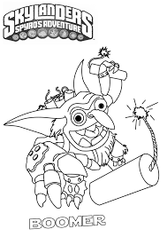 Best Skylander Coloring Pages 31 In Print With