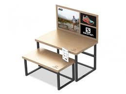 Salomon Retail Display Nesting Tables