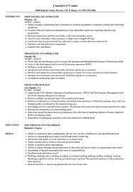 Download Operator Process Resume Sample As Image File
