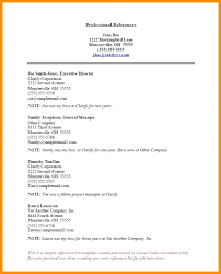 Resume Reference List Template Sample Personal For Best Of Job References