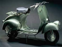 It Differed From The 98 Not Only In Engine Size But Also For Introduction Of Rear Suspension Front Was Modified Vespa 125