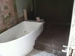 projekt badumbau mit podest und bodengleicher dusche dann