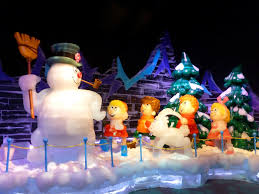 Frosty Snowman Christmas Tree by Ice Featuring Frosty The Snowman A Classic Christmas Tale