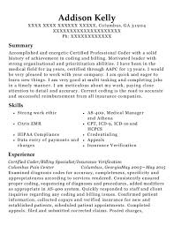 Certified Professional Coder Medical Assistant Customize Resume View