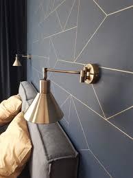 ferm living wallpaper lines kerzenschein zimmer len