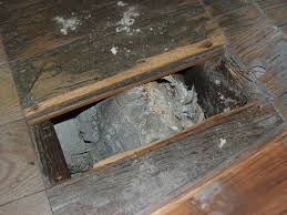 Domestic Underfloor Redundant Heating Pipework Insulation