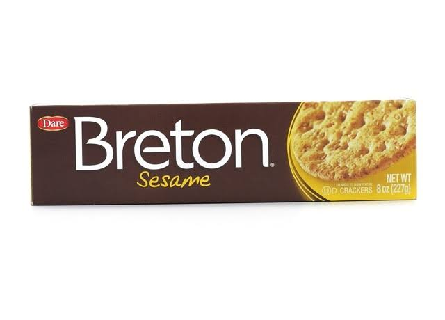 Dare Breton Sesame Crackers - 8oz