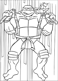 Masque Tortue Ninja 2 Coloriage Tortues Ninja Coloriages Pour Masque