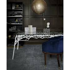 Individual Metal Rods Are Hand Welded Into This Abstract Iron Sculpture That Also Doubles As A Dining Room Table