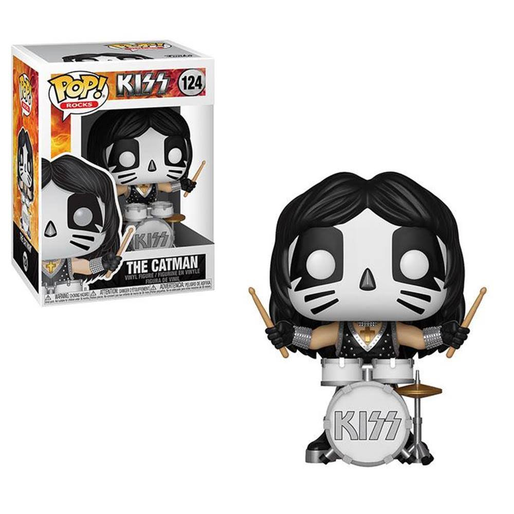 Funko Kiss Catman Pop Action Figure - 10cm