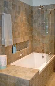 Tub Shower Tile Ideas Glass Windows Covwring Horizontal Blind