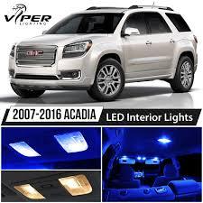 100 Interior Truck Lighting Car Lamps 20072016 GMC Acadia Blue LED