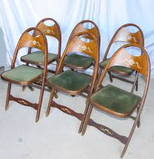 Bargain John's Antiques | Set Of Five Matching Antique Folding ... Vintage Wooden Folding Chair Old Chairs Stools Amp Benches Ai Bath Pregnant Women Toilet Fniture Designhouse French European Cafe Patio Ding Best Way To Cleanpolish Wood In Rope From Maruni Mokko2 For Sale At 1stdibs Chairs Leisure Hollow Rocking Bamboo Orient Express Woven Paris Gray Rattan Set Of 2 Adjustable Armrest Mulfunction Wood Folding Chair Computer Happy Goods Industry Wind Iron