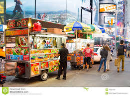 Food Trucks In New York City Editorial Image - Image Of States ...