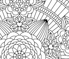 Flower Mandalas Printable Adult Coloring Book By Candy Hippie Candyhippie