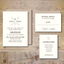Heart And Arrow Wedding Invitations Invites Rustic