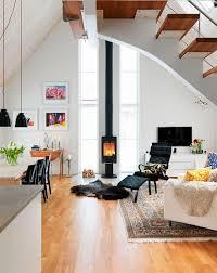 12 poeles a bois tendance pour salon design côté maison