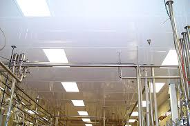 high density insulated closed edged drop in ceiling tiles