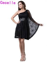 popular black lace homecoming dress buy cheap black lace