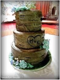 Homespun Sweet Rustic Country Wedding Cakes