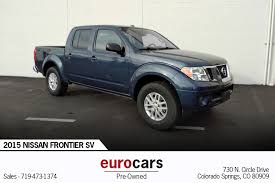 2015 Nissan Frontier SV Stock # E1002 For Sale Near Colorado Springs ...