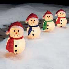 Halloween Pathway Lights Stakes by 4 Ct Cute Snowman Christmas Pathways U2014kmart