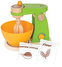 Hape Kitchen Set India by Hape Mighty Mixer Wooden Play Kitchen Set With
