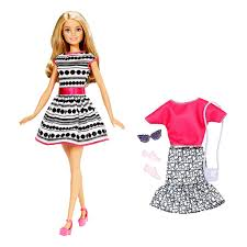 Wedding Style Ruffle Classic Barbie Doll Dress Free Wedding