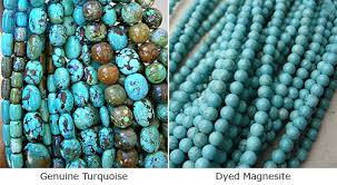 How Do You Tell The Difference Between Genuine Turquoise And Dyed Howlite Or Magnesite