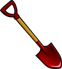 Childrens Bucket And Spade Vector Clip Art