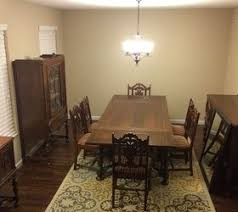 How can I modernize my antique dining room
