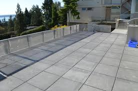 concrete roofing pavers repurposedmaterials insulated