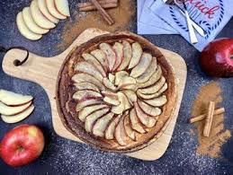 apfel quark kuchen gesunder apfelkuchen mit quark