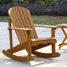 Highland Dunes Chartier Solid Wood Rocking Adirondack Chair ... Childs Wooden Rocking Chair W Wood Carved Detail Vintage 42 Boutique Costa Rican High Back I So Gret Not Buying This Croft Collection Melbury At John Lewis Partners Teak In Natural Finish By Confortofurnishing Outdoor Set Highwood Usa Chairs Bamboo Chair Adult Balcony Home Recliner Amazoncom Hcom Baby Nursery Brown 11 Best Rockers For Your Porch 10 2019 Top Of Video Review Buy Eames Style White Rocker Cool Plastic Online