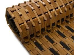 bambus badematte natur