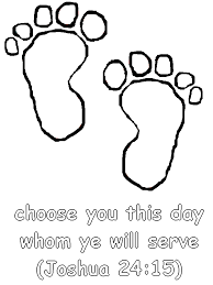 Joshua 2415 Coloring Page Choose You This Day Whom Ye Will Serve