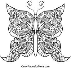 Butterfly Coloring Pages Best For Adults