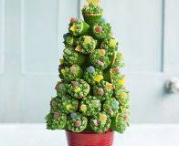 Rice Krispie Christmas Tree Pops by Christmas Tree Crispy Pops Recipe Bbc Good Food