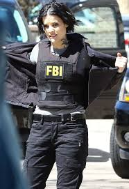 JAIMIE ALEXANDER on the Set of Blindspot Season 2 in New York 03