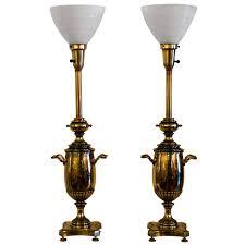 Stiffel Table Lamps Vintage by Pair Vintage Brass Stiffel Lamps At 1stdibs